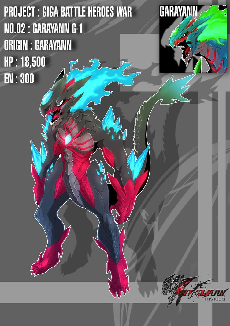Giga Battle Heroes Legends - 02 by GARAYANN