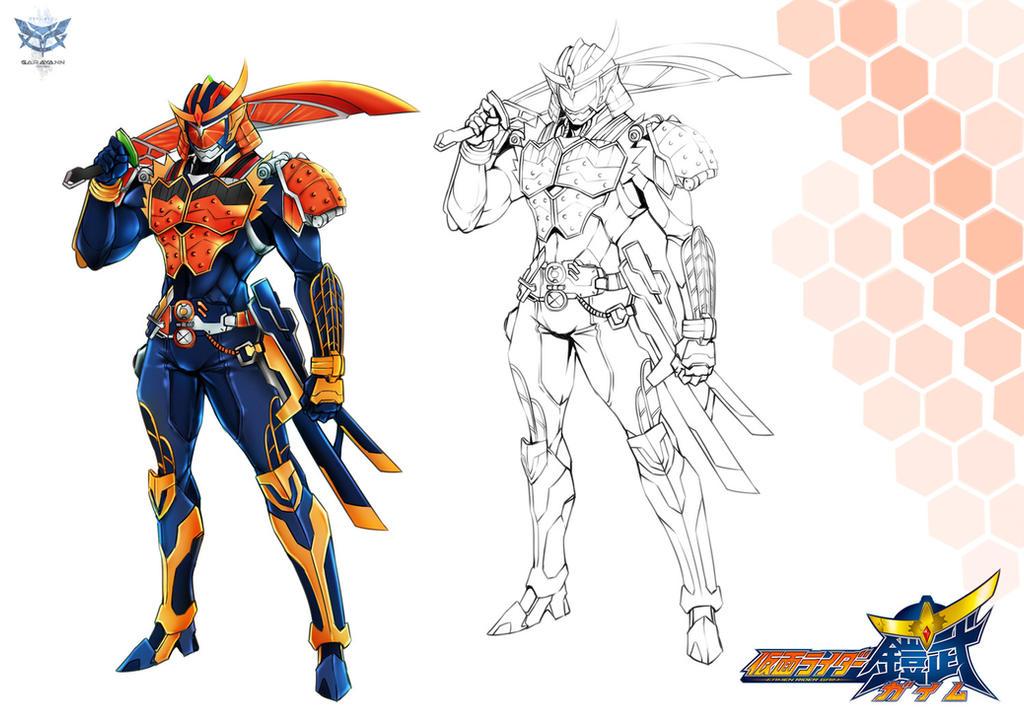 Kamen Rider GAIMU by GARAYANN