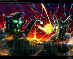 SUPER GODZILLA VS BAGAN