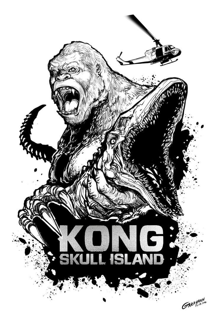 Kong Skull Island Vector
