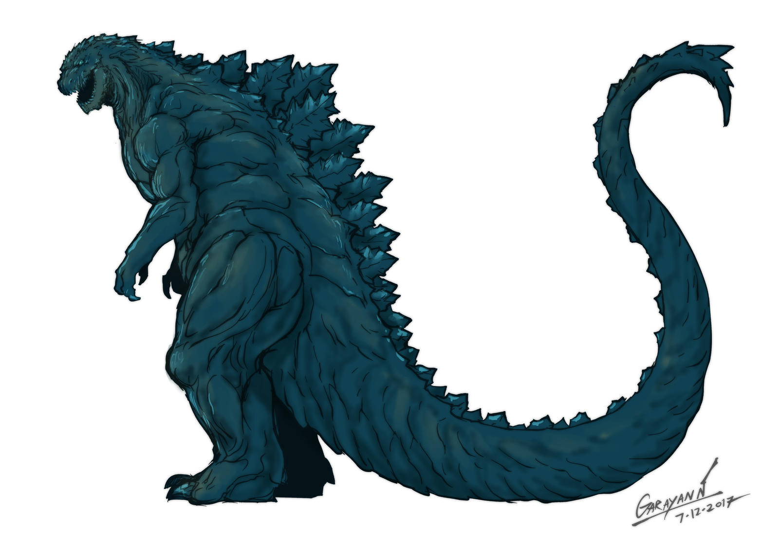 Godzilla 2017 [Fanart] by GARAYANN on DeviantArt