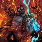 Kong VS Ghidorah