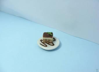 1/12 Miniature Tiramisu by Tristatin