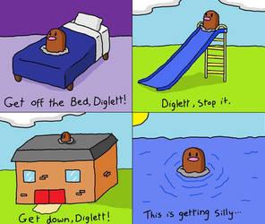 Darn you, Diglett. by doormatt74