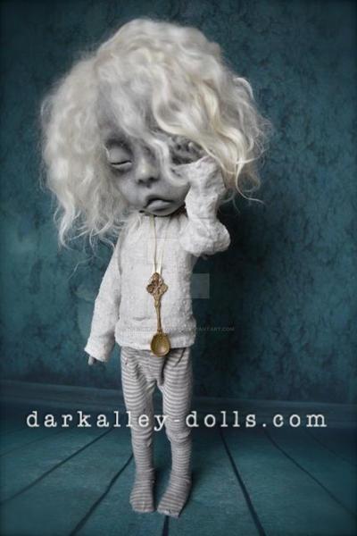 Tanya Gothic Art Doll. BJD by VeronikaLozovaya