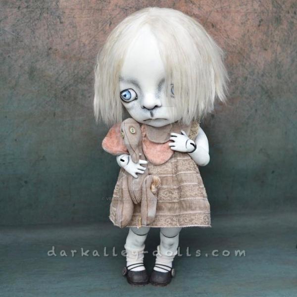 Dark Alley BJD Art Doll  Poppy 2/6 from by VeronikaLozovaya