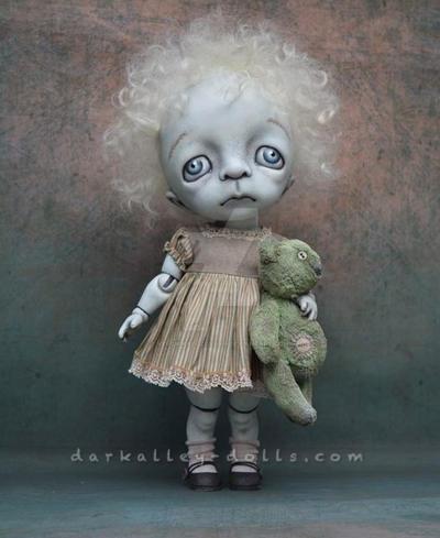 Dark Alley BJD Art Doll. Poppy 1/6 by VeronikaLozovaya