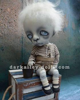 Poppy BJD. Gothic Art Doll. 12''