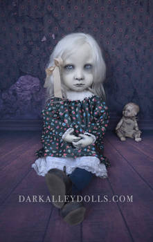 Gothic art doll Aster