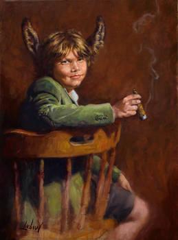 Lebow Portrait of Lampwick