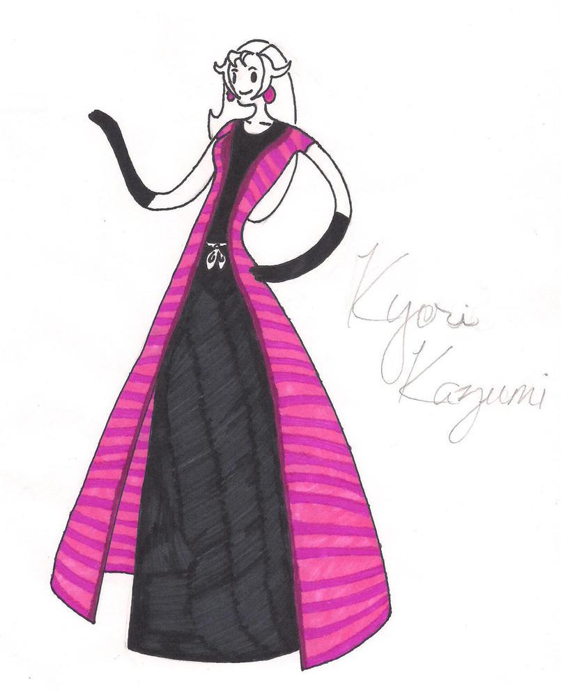 Bleach OC: Kyori, Aventure Time Style by artist9110