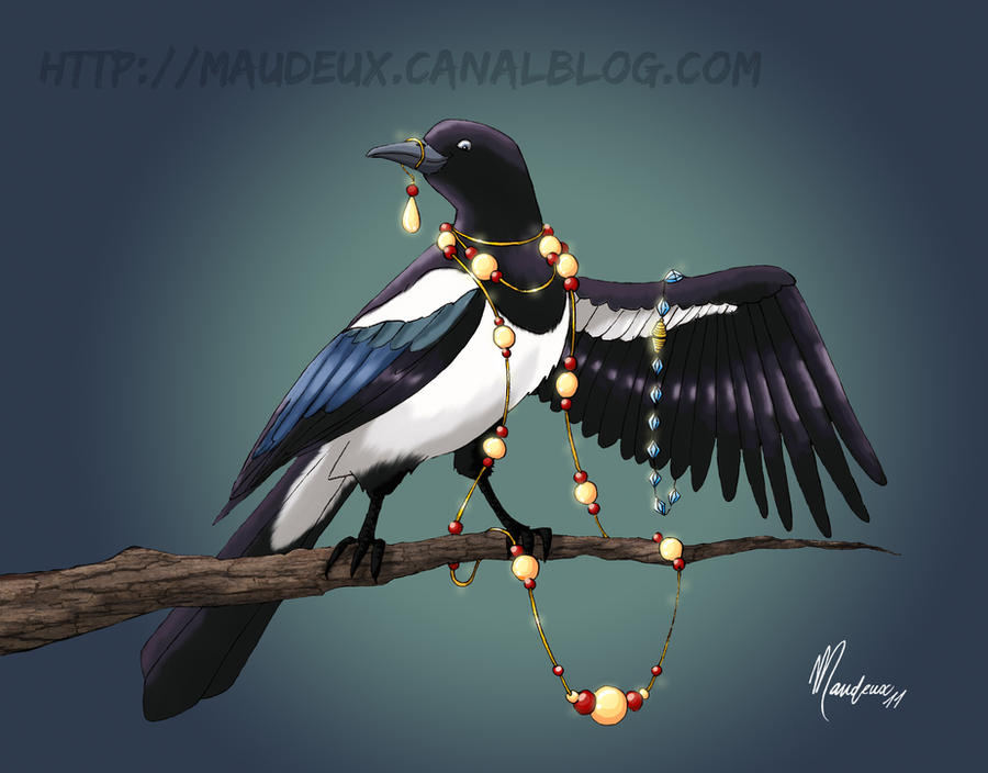 Thieving Magpie Image Links Tv Tropes