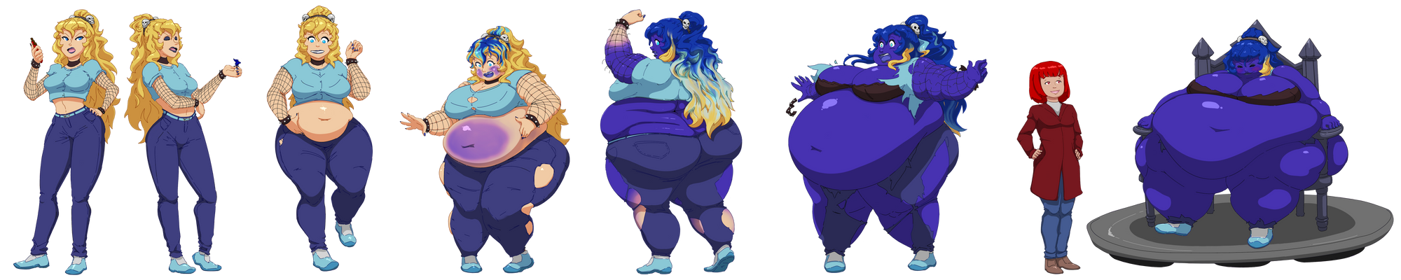 Lilly the Blueberry Brat