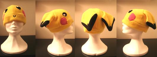Pichu Fleece Hat by KiraTakuto