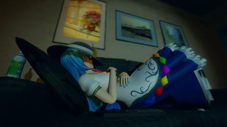 Tenshi Chillin' by LuckyMcCloud