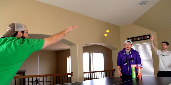 Ping-pong-trick-shots by epicheroes
