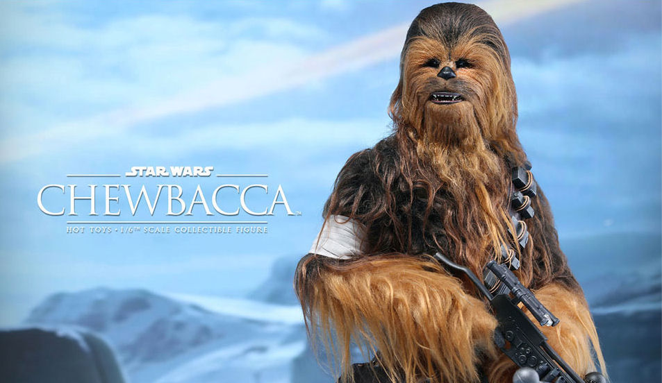 Star Wars Hot Toys Masterpiece Chewbacca Figure by epicheroes