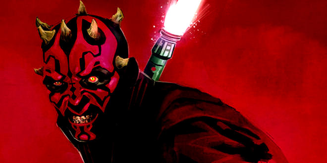 Badass Star Wars Darth Maul Artwork by epicheroes