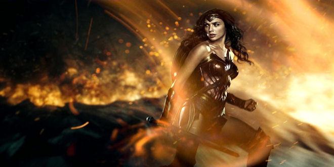 Gal Gadot as Wonder Woman Movie Art by epicheroes