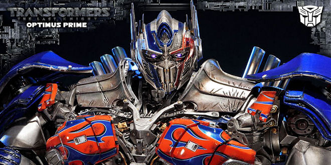Transformers The Last Knight Optimus Prime Statue by epicheroes