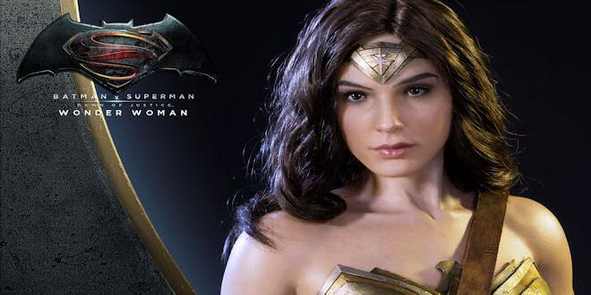 New Wonder Woman Gal Gadot Premium 1/2 Statue by epicheroes