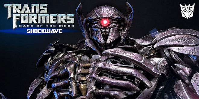 Transformers DOTM Shockwave Statue by Prime 1 by epicheroes