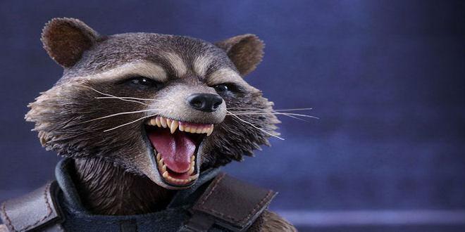 Rocket Raccoon Masterpiece 1/6 Figure by Hot Toys by epicheroes