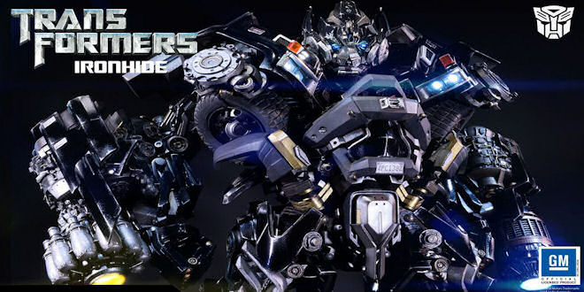 Heavy Duty Transformers Ironhide Statue by Prime 1 by epicheroes