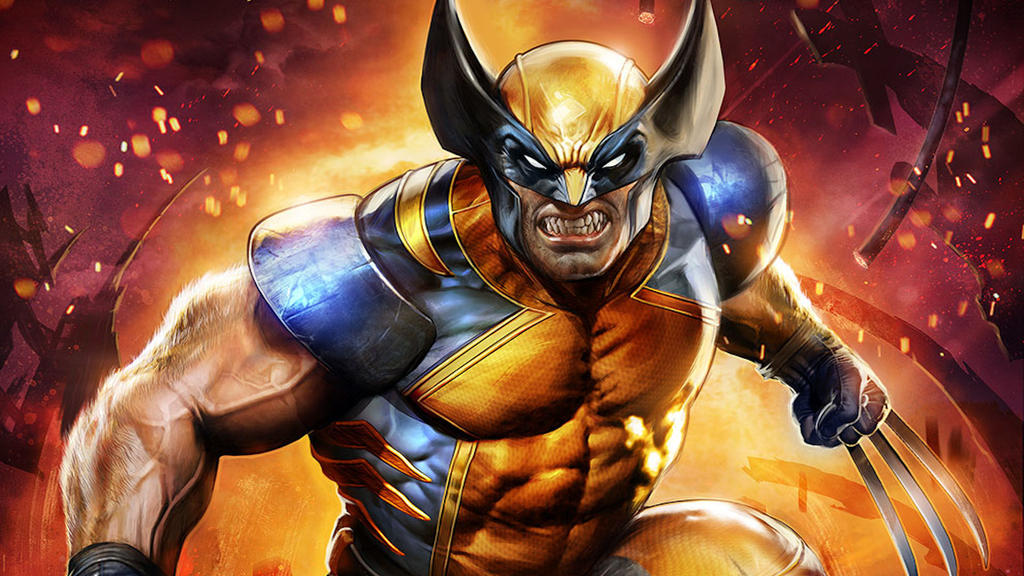 Marvel-wallpaper-wolverine by epicheroes