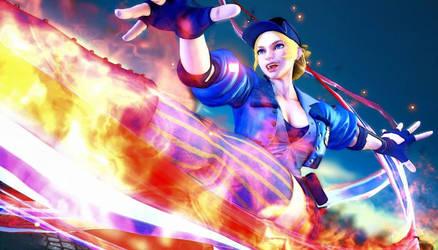 Street Fighter V Orange Justice Fortnite Theme