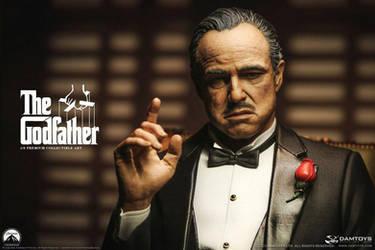 The Godfather Statue 1/3 Vito Andolini Corleone