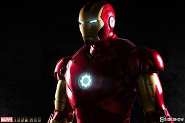 First Look Lifesize Iron Man Statue
