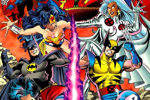 50 Marvel Comics vs DC Comics Copycat Characters