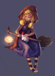 Witchy Business by cypritree