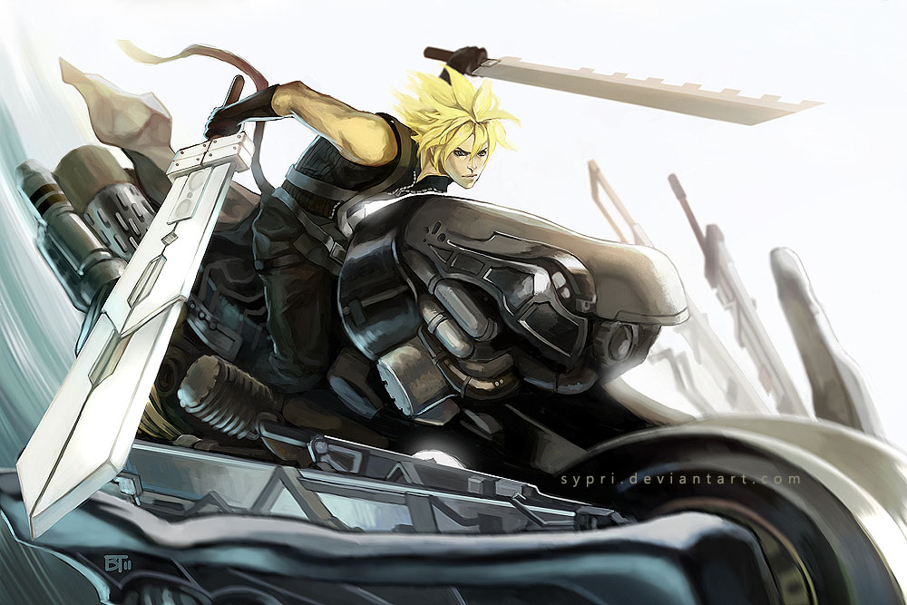Cloud On Fenrir By Cypritree On Deviantart