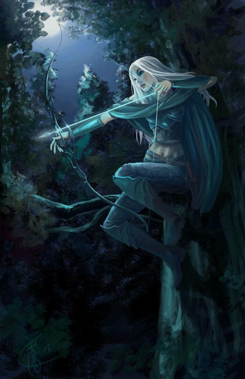 Random Elf_Ranger_by_sypri