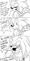 Sonic and Knuckles Comic