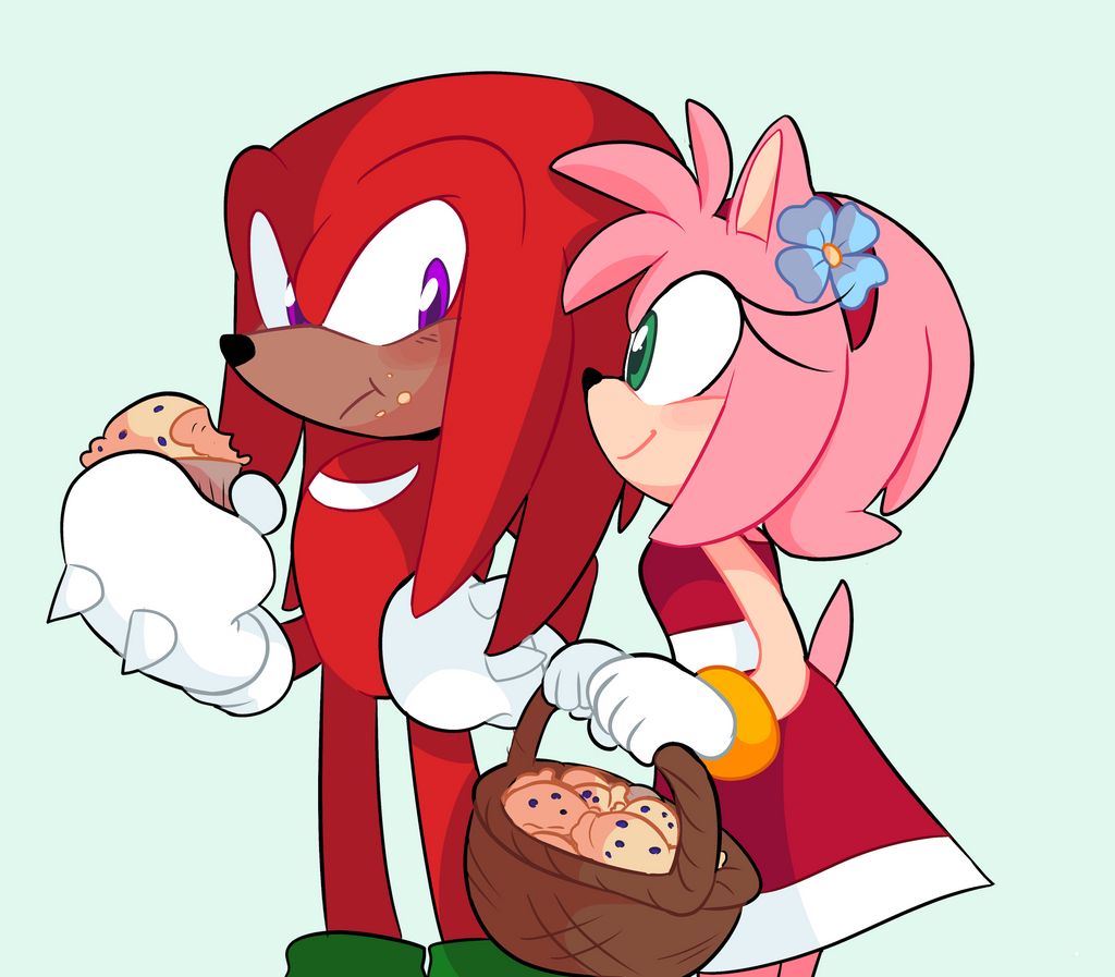 amy rose in love with knuckles!! sonic comic dub animation compilation - 811×710