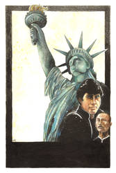 Remo Williams Bad Movie Night Poster by mrkozak