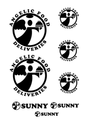 Angel Food Deliveries - logo design by mrkozak