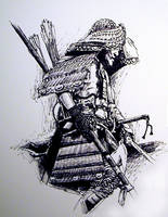 Samuri warrior