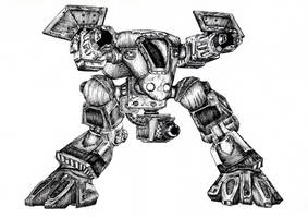 StarCraft Goliath by Gamewiz