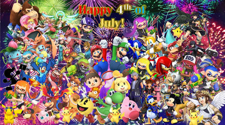 Super Smash Bros 4th of July!