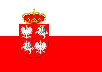 Kingdom of Poland Banner by TigerEstoque