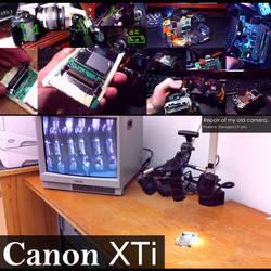 Canon XTi Repair