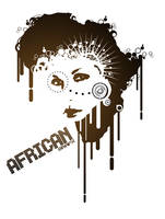 AFRICAN GRAFX by GrafixRonnin