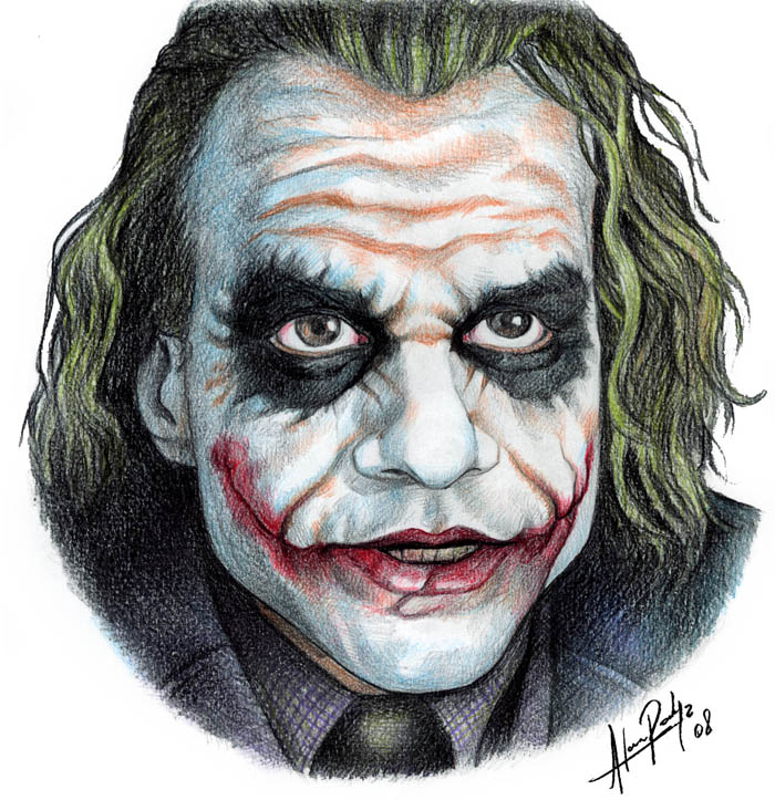 Joker scene by AlanRodriguez