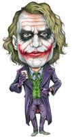 Caricature joker