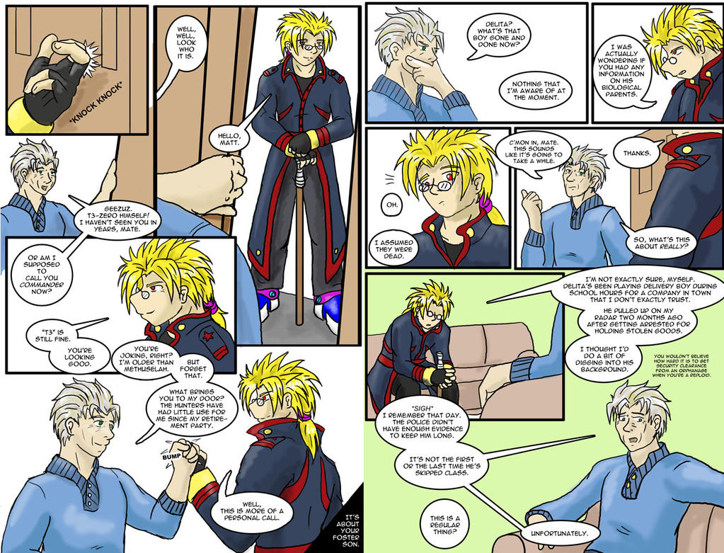 Sins of the Family page 1 and 2 by tcat