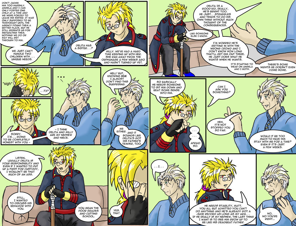 Sins of the Family page 3 and 4 by tcat